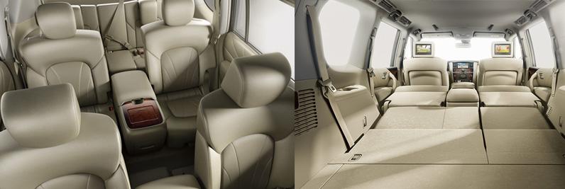 Flexible Interior for a Comfortable Ride