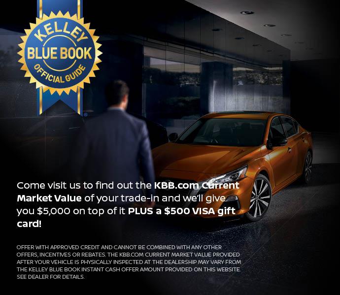 $5,000 over KBB Offer | Nissan Dealer | Naples Nissan